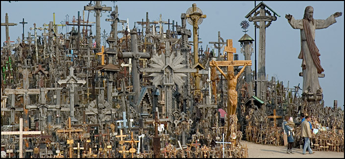 Wzgórza Krzyży / Hill of Crosses – Lithuania