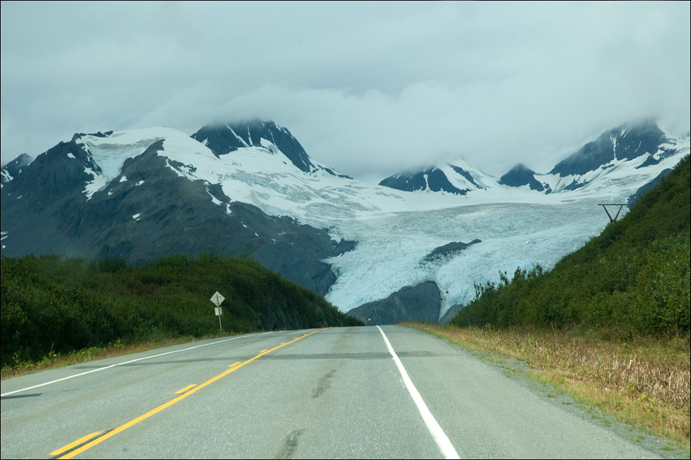 Alaska – Coraz bliżej Valdez / On the road to Valdez