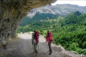 Hiszpania – Pireneje szlak GR11 – Dzień marszu trzeci cd