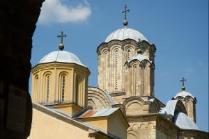 Serbia – monaster Manasija i Ravanica  /Manasija and Ravanica  monastery
