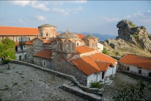 Macedonia – Wizyta w magicznym miejscu, monastrze Treskavec  / Macedonian Treskavec  monastery