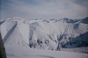 Our winter attempts to hike Western Tatras ridge, 20 years ago / Nasza próba przejścia grani Tatr Zachodnich, 20 lat temu