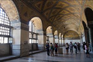 Turcja – Stambuł, Hagia Sophia – wnętrza