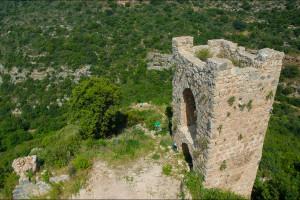 Izrael – Zamek Montfort – forteca krzyżowców