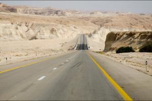 Izrael –  Droga nad Morze Martwe