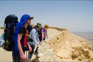 Izrael – Mizpe Ramon, pierwszy dzień na pustyni