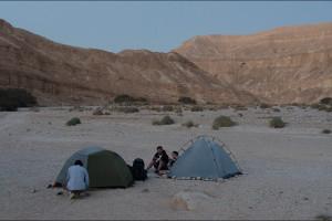 Izrael – Noc na pustyni Negew
