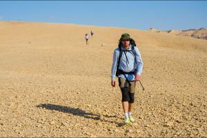 Izrael – Pustynia, pustynia.. Israel National Trail