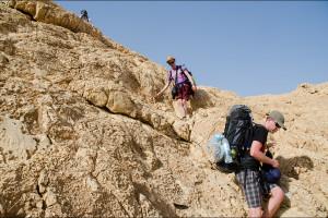 Izrael – W okolicach krateru Ramon