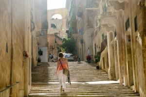 Malta – Valletta i morze