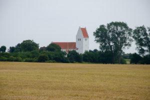 Wyspa Møn , kościół w Elmelunde
