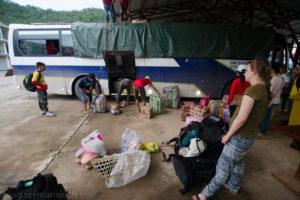 W drogę..17 godzin podróży do Phongsaly