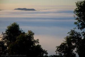 Ponad chmurami w Laosi