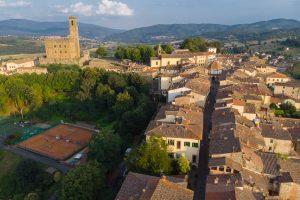 Toskania – Castello di Romena i Poppi