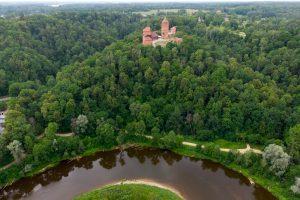 Łotwa – Zamek Turaida i droga do Rygi