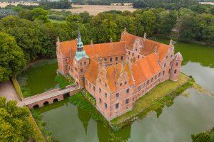 Pałace i zamki  Jutlandii