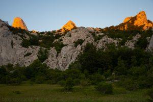 Via Adriatica, dzien 4 wieczor